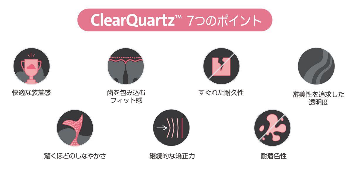 ClearQuartz 7つのポイント